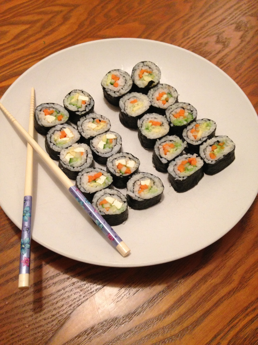 How-To: Make Vegan Sushi