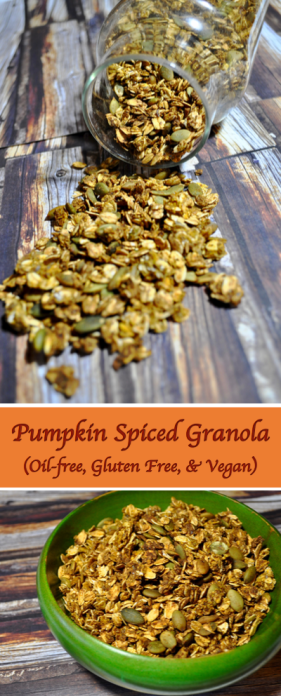 Pinterest Pumpkin Spiced Granola